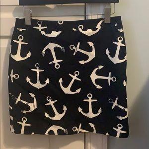 J.Crew Anchor Skirt